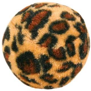 HRAČKA loptičky s leopardím motívom - 4ks/4cm