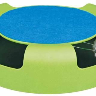 HRAČKA myš v kruhu so škrabacím kobercom - 25x6cm
