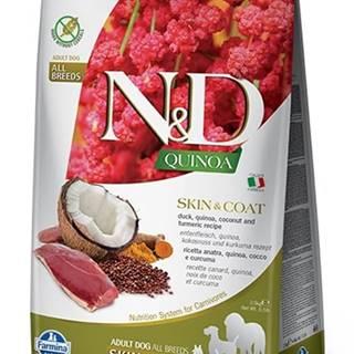 N&D dog GF QUINOA skin/coat DUCK/COCONUT - 800g