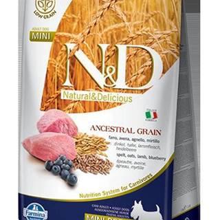 N&D dog LG ADULT MINI LAMB/BLUEBERRY - 800g