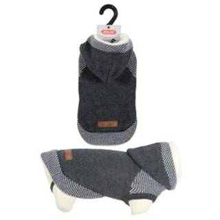 Oblečenie sveter s kapucňou HIPSTER antracit - 25cm
