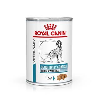 Royal Canin Veterinary Health Nutrition Dog SENS. CONTROL 420g konzerva - Duck