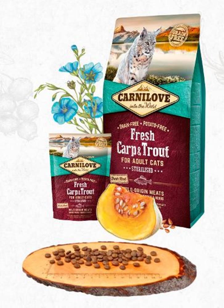 Carnilove CARNILOVE cat   FRESH STERILISED CARP/trout - 400g