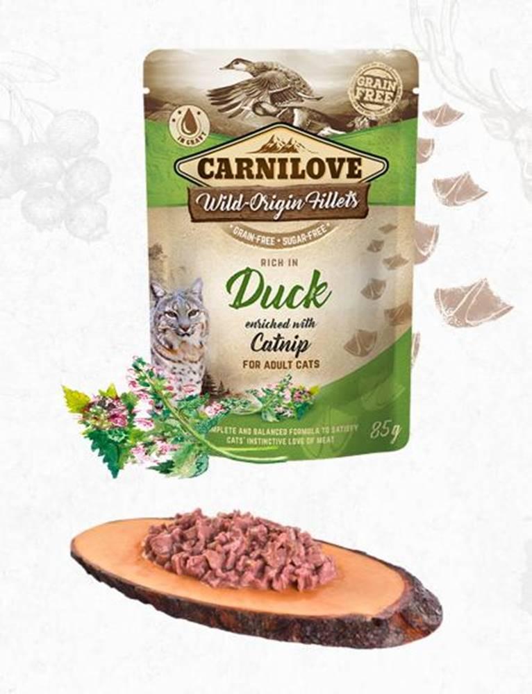 Carnilove CARNILOVE cat  kapsa  ADULT  DUCK/catnip - 85g