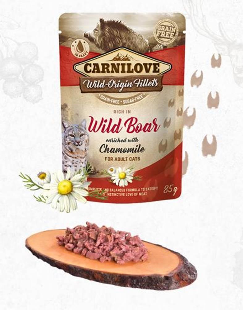 Carnilove CARNILOVE cat kapsa ADULT WILD Boar/chamomile - 85g