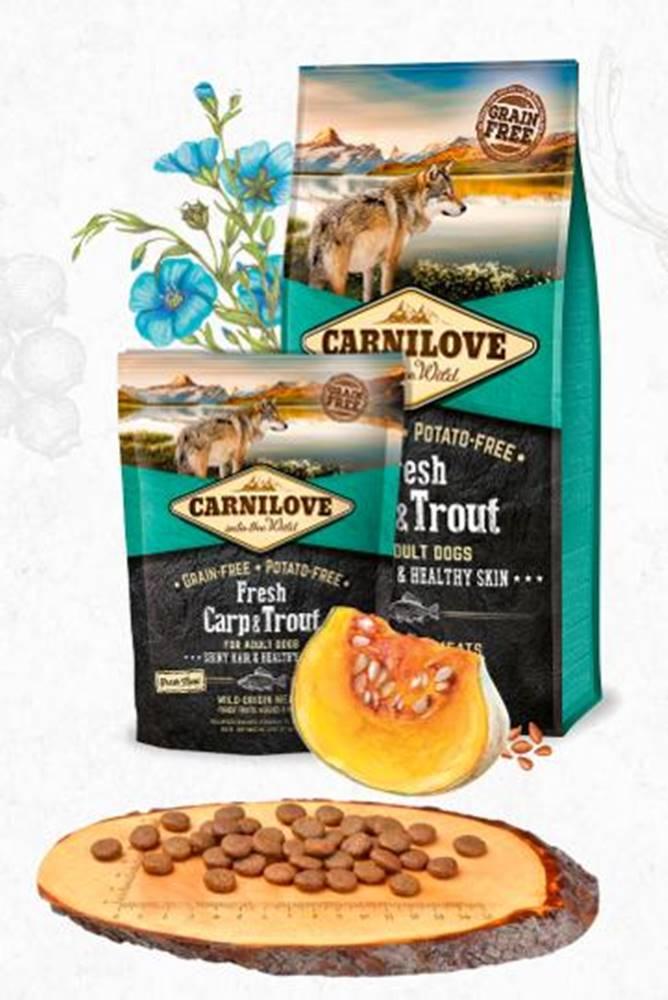 Carnilove CARNILOVE dog FRESH ADULT CARP/trout - 1,5kg