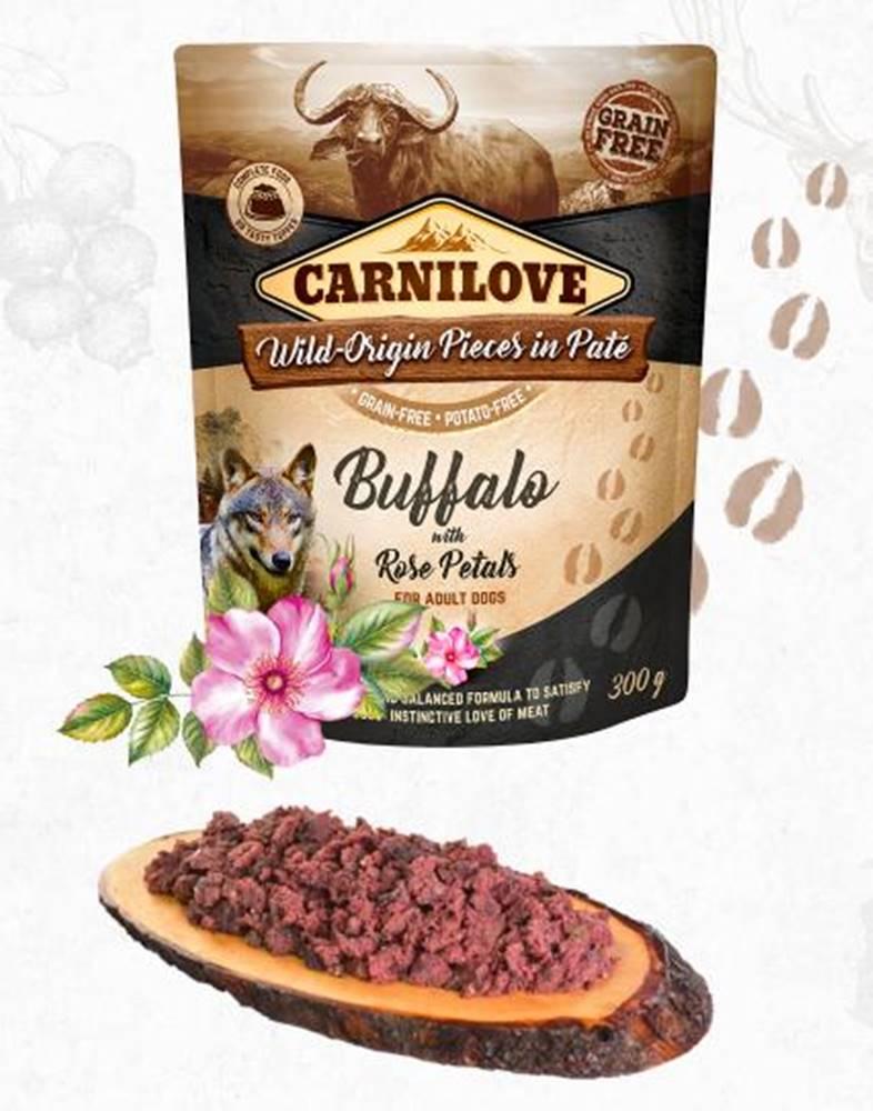 Carnilove CARNILOVE dog kapsa PATÉ BUFFALO/rose petals - 300g