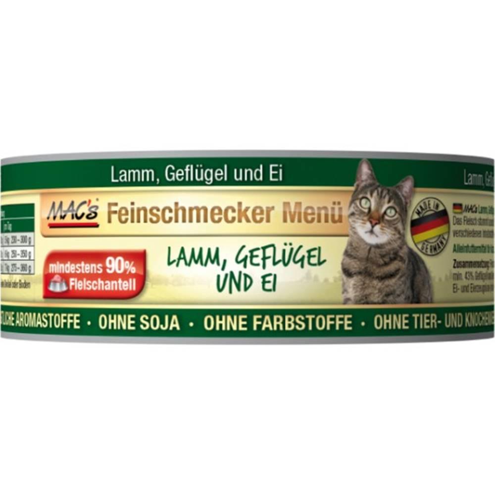(bez zařazení) MACs  cat  konz. feinschmecker LAMM/GEFLUGEL - 100g