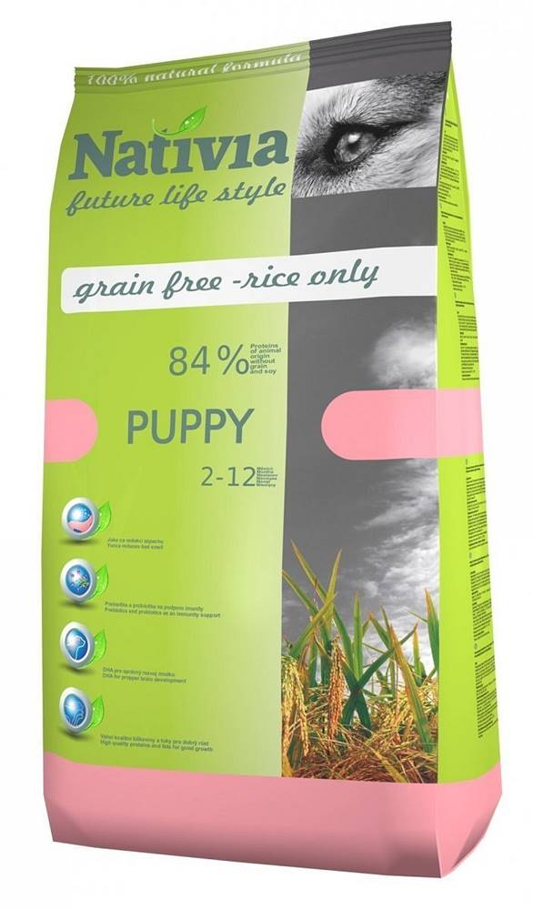 (bez zařazení) NATIVIA dog PUPPY - 3kg