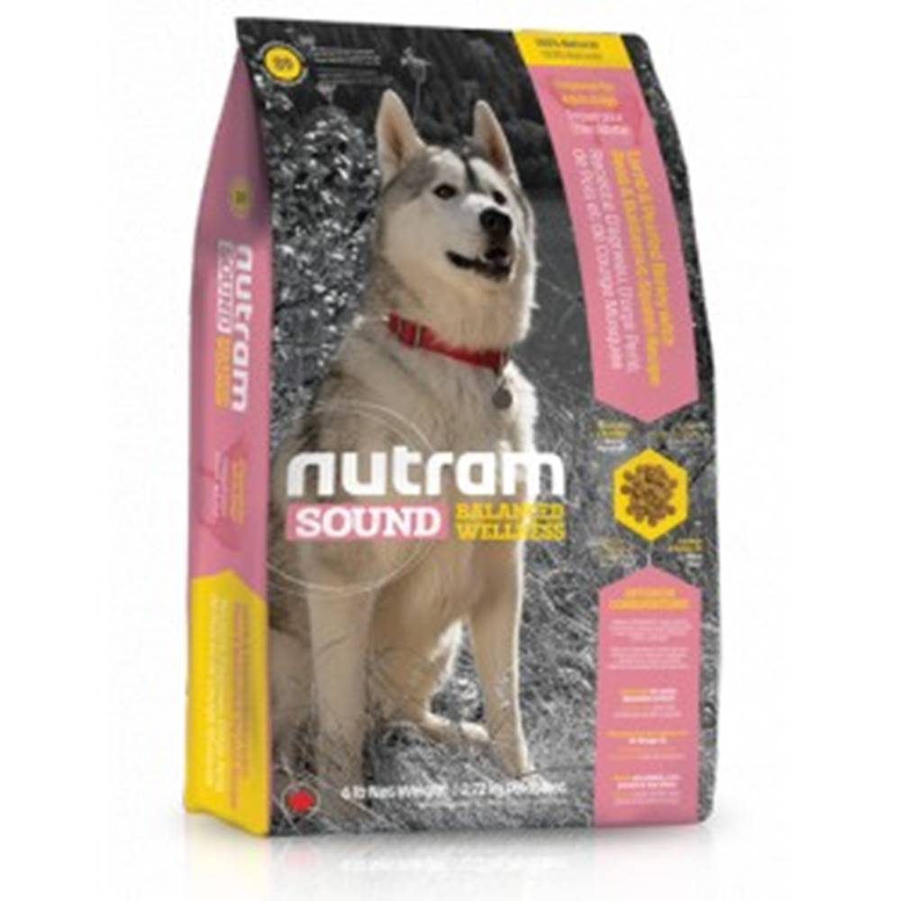 Nutram NUTRAM dog S9-SOUND ADULT LAMB - 2,72kg