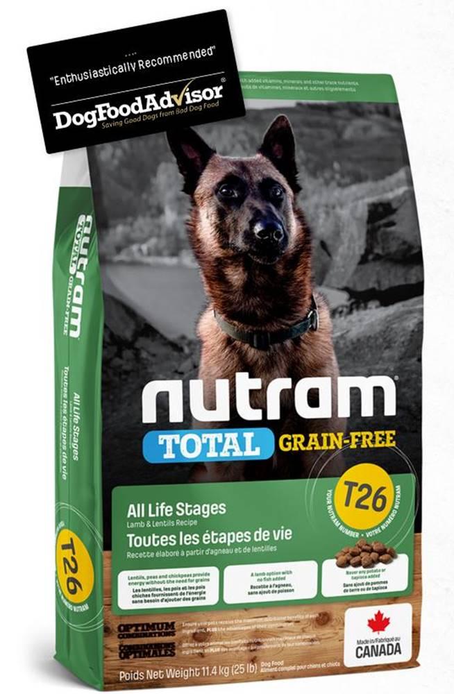 Nutram NUTRAM dog T26 - TOTAL GF  LAMB/lentils - 2kg
