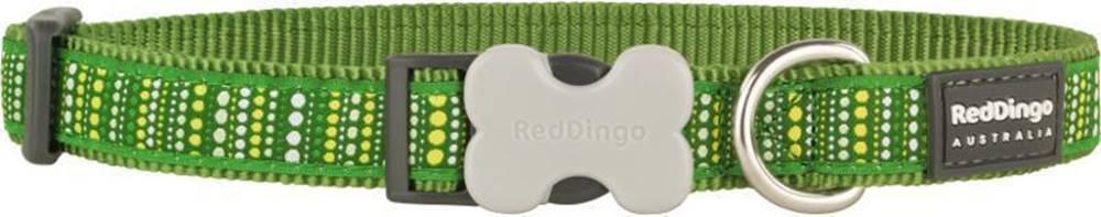 Red-dingo Obojek RD LOTZADOTZ green - 1,2/20-32cm