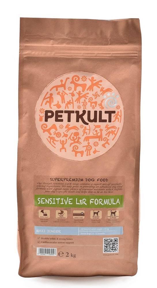 Petkult PETKULT dog MAXI JUNIOR lamb/rice - 2kg (náhradní balení)