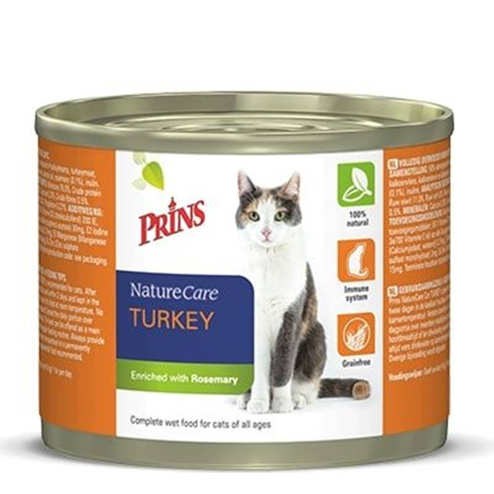 Prins PRINS cat konz. TURKEY - 200g