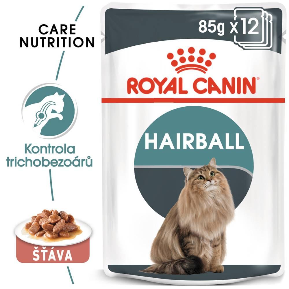 Royal Canin RC cat  kapsa   HAIRBALL care  v sosu - 85g