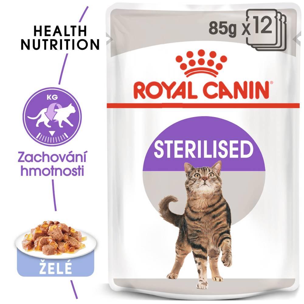 Royal Canin RC cat  kapsa   STERILISED/želé - 85g