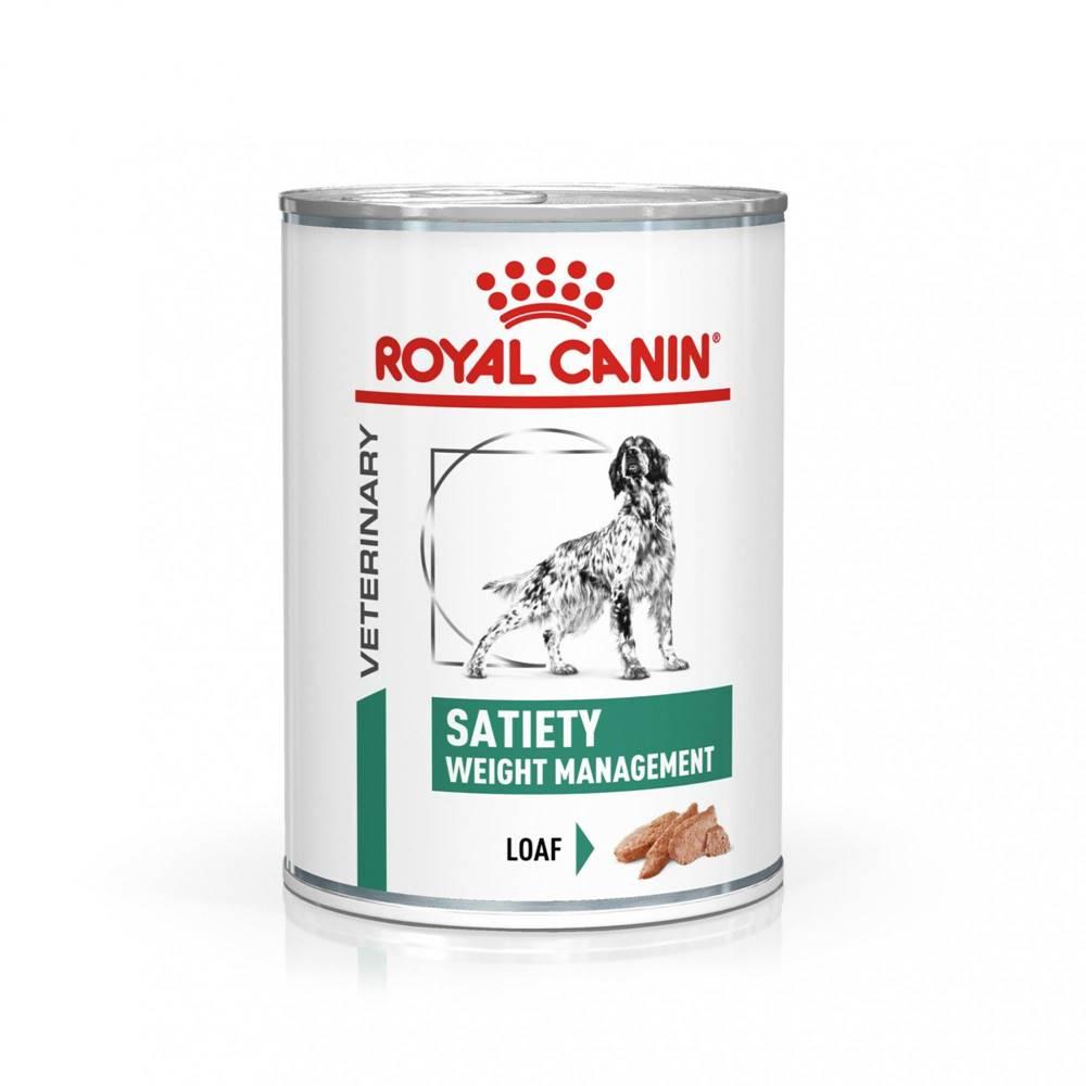 Royal Canin Royal Canin Veterinary Health Nutrition Dog SATIETY konzerva - 410g