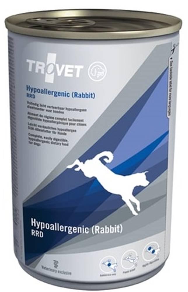 Trovet Trovet dog (diéta) Hypoallergenic (Rabbit) RRD konzerva - 400g