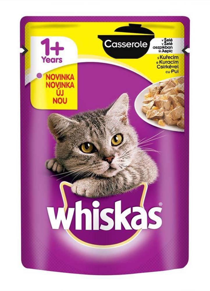 Whiskas WHISKAS kapsa   CASSEROLE v želé 85g - Kuracie