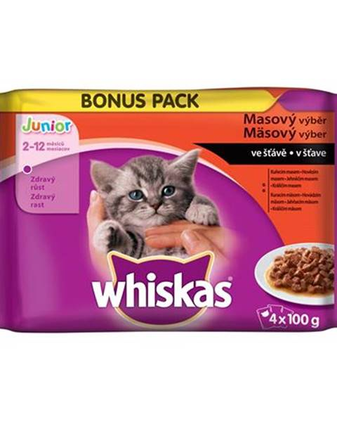 Kapsičky Whiskas