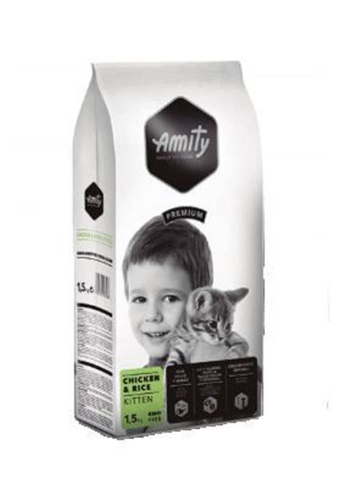 Amity AMITY premium cat   KITTEN chicken/rice - 1,5 kg