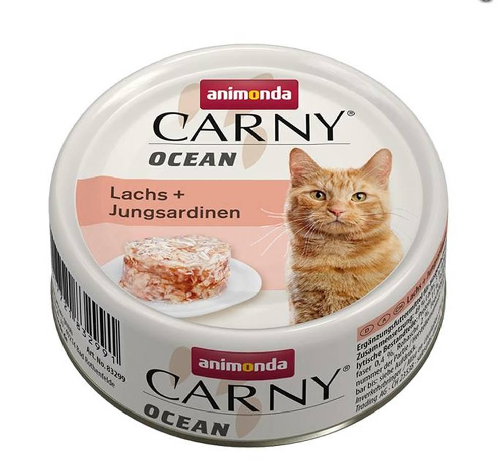 Animonda ANIMONDA cat konzerva CARNY OCEAN losos / sardinky - 80g