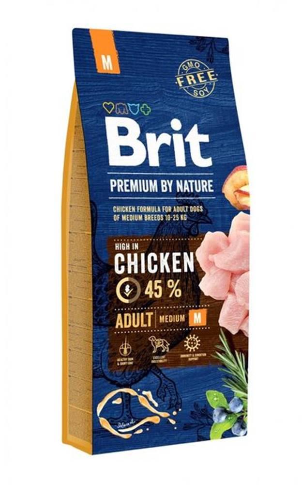 Brit BRIT dog Premium By Nature ADULT M - 3kg