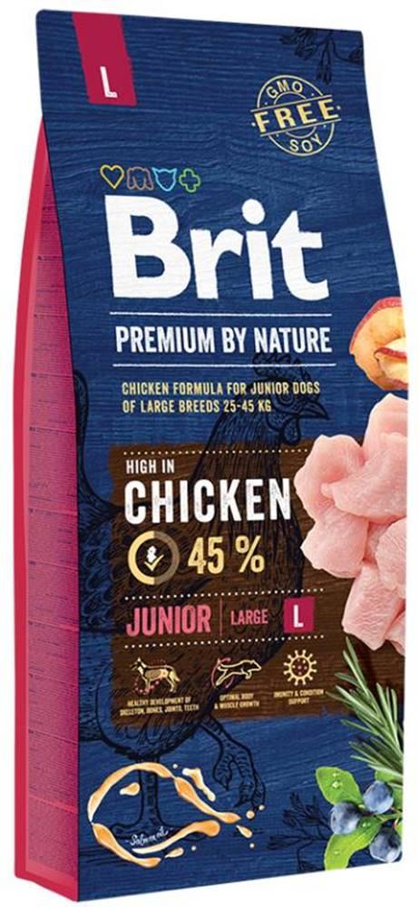 Brit BRIT dog Premium By Nature JUNIOR L - 3kg