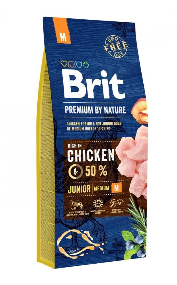 Brit BRIT dog Premium by Nature JUNIOR M - 3kg