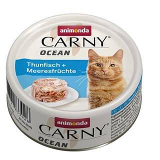 ANIMONDA cat konzerva CARNY OCEAN tuniak / morské plody - 80g