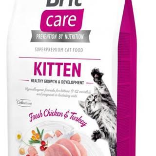 BRIT CARE cat GF   KITTEN  - 2kg