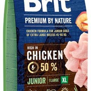 BRIT dog Premium By Nature JUNIOR XL - 3kg