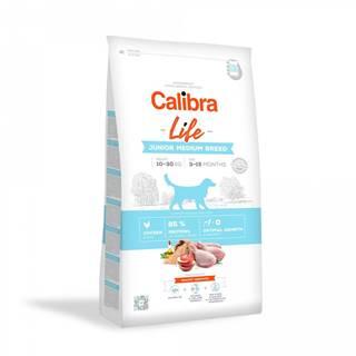 CALIBRA dog LIFE JUNIOR medium CHICKEN - 2,5kg