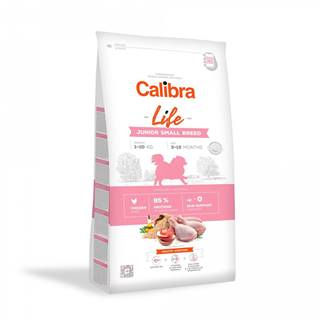 CALIBRA dog LIFE JUNIOR small CHICKEN - 1,5kg