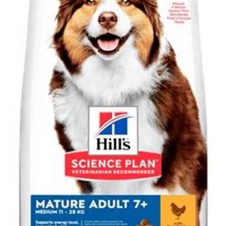Hills MATURE MEDIUM / chicken - 14kg