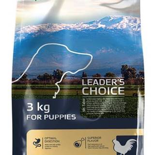 LEADER´S CHOICE dog PUPPY chicken - 3kg