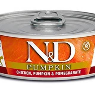 N&D cat  konz. PUMPKIN chicken/POMEGRANATE - 12 x 80g