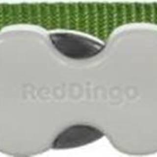 Obojok RD jednofarebný zelený - 1,2/20-32cm