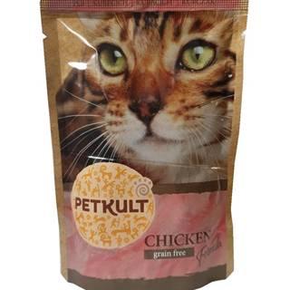 PETKULT cat kapsa  KURACIE - 100g