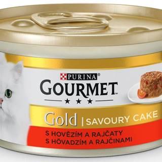 PURINA GG savoury cake 85g konzerva - HOVÄDZIE / paradajky