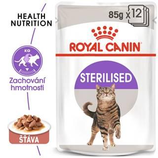Royal Canin cat kapsa  STERILISED v sose - 85g