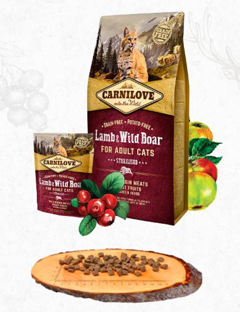 Carnilove CARNILOVE cat   ADULT lamb/wild boar - 400g