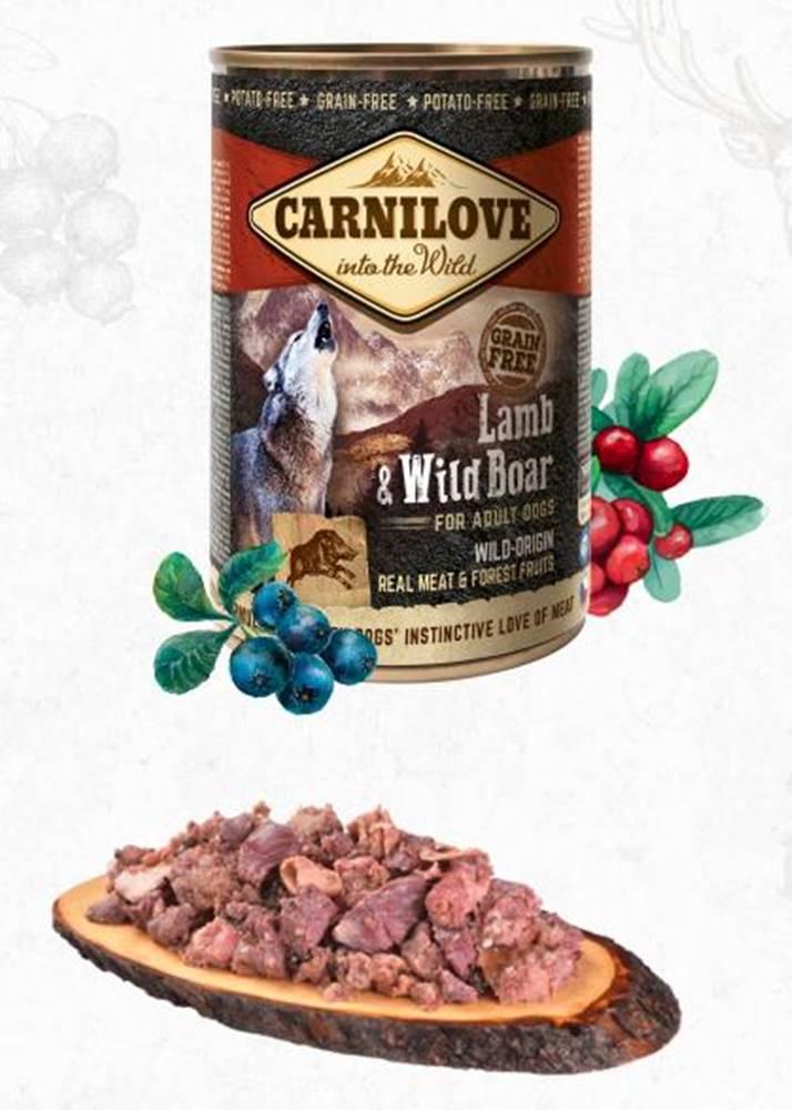Carnilove CARNILOVE   konz.  ADULT LAMB/wild boar - 400g