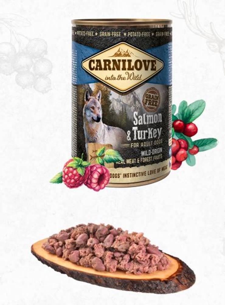 Carnilove CARNILOVE   konz.  ADULT SALMON/turkey - 400g