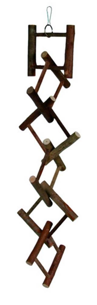 Trixie HRAČKA  vtáky rozrezaný rebrík  - 12 priečok