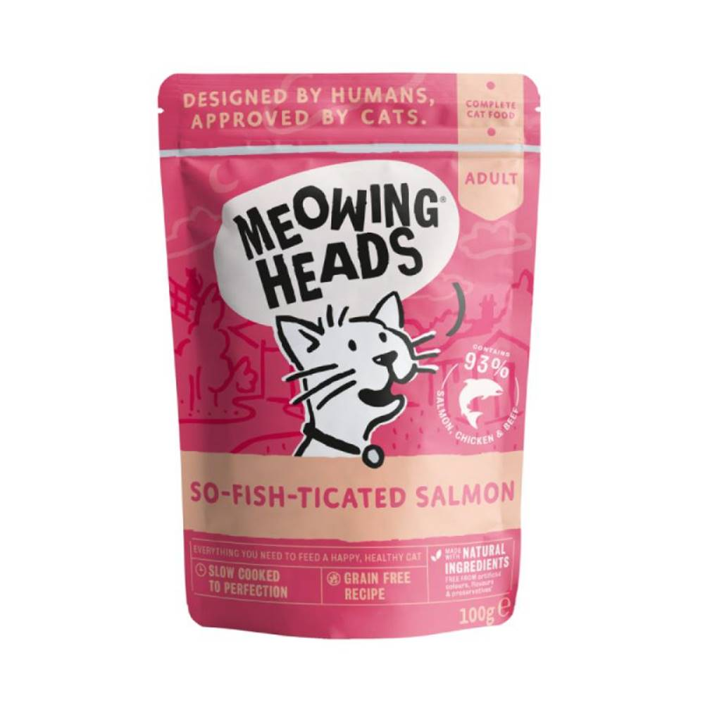Meowing Meowing Heads  kapsa  SO-FISH-ticated - 100g