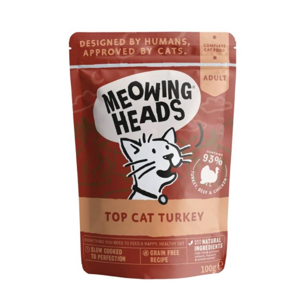 Meowing Meowing Heads   kapsa  TOP tac TURKEY - 100g
