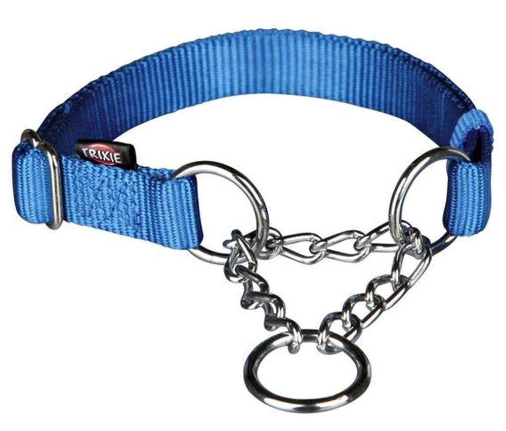 Trixie Obojok Premium polosťahovací Modrý - S-M: 1,5/30-40cm