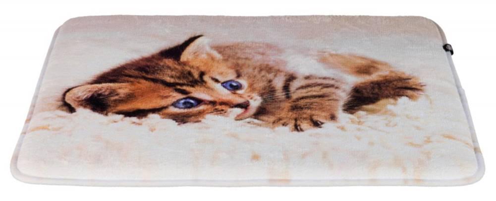 Trixie Podložka (obdĺžnik) TILLY protišmyková s mačiatkom - 50x40cm