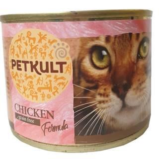 PETKULT  cat konz. KUŘECÍ - 185g